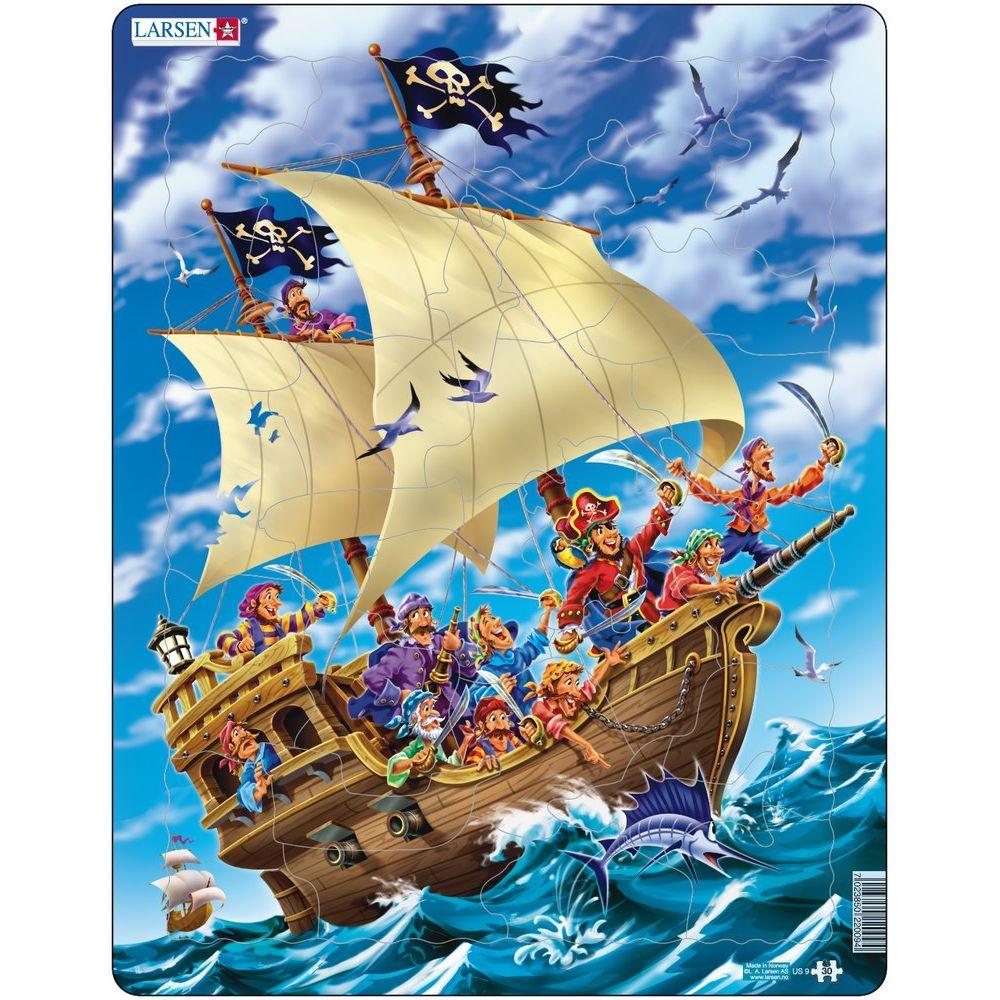 Puzzle 30 piese Piratii