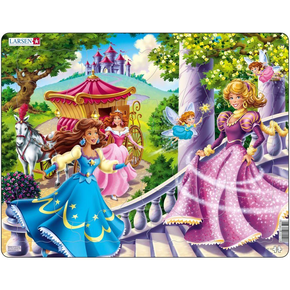 Puzzle 24 piese Printesele