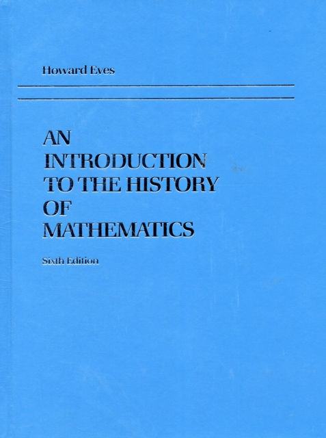 INTRO TO THE HISTORY OF MATHEMATICS