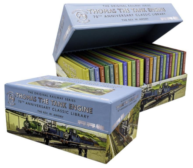 Thomas The Tank Engine 70th Anniversary Classic Library - 26 Titles Boxed Set