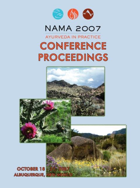 2007 NAMA Conference Proceedings