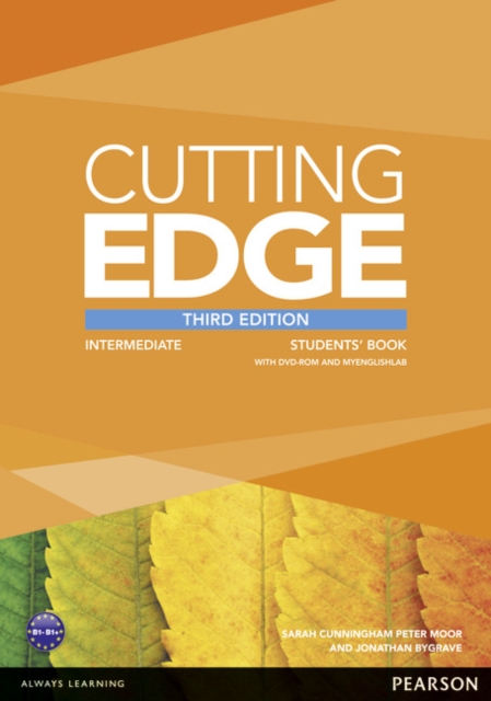 Cutting Edge 3rd Edition Intermediate Students' Book with DVD and MyEnglishLab Pack