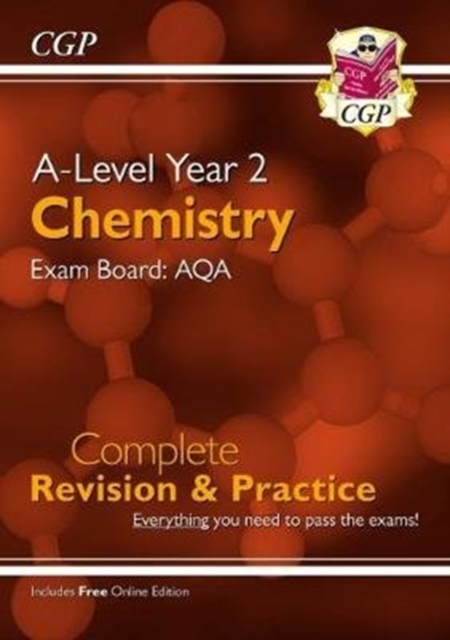 New A-Level Chemistry: AQA Year 2 Complete Revision & Practice with Online Edition
