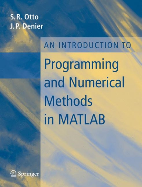 Introduction to Programming and Numerical Methods in MATLAB