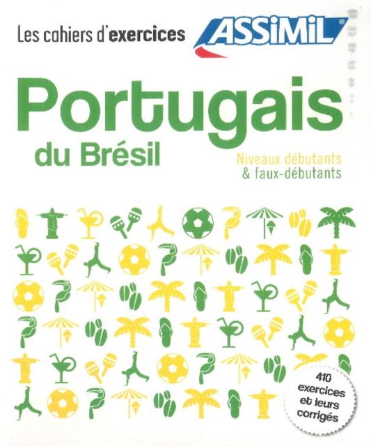 Coffret cahiers PORTUGAIS DU BRESIL debutants + faux-debutants