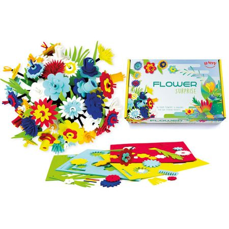 Happy Cube Set creativ - Buchetul de flori