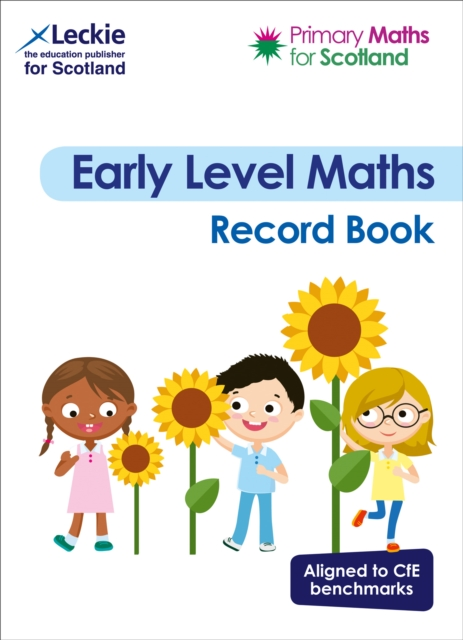 Primary Maths for Scotland Early Level Record Book