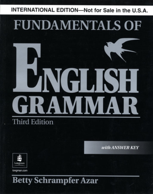 Fundamentals of English Grammar with Answer Key (Black), International Version, Azar Series