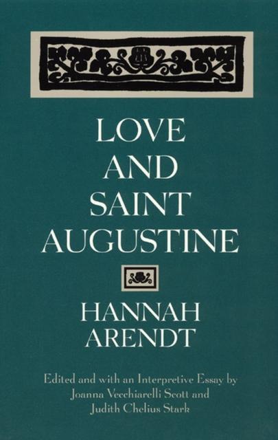 Love and Saint Augustine