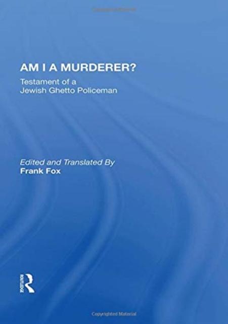 Am I A Murderer?