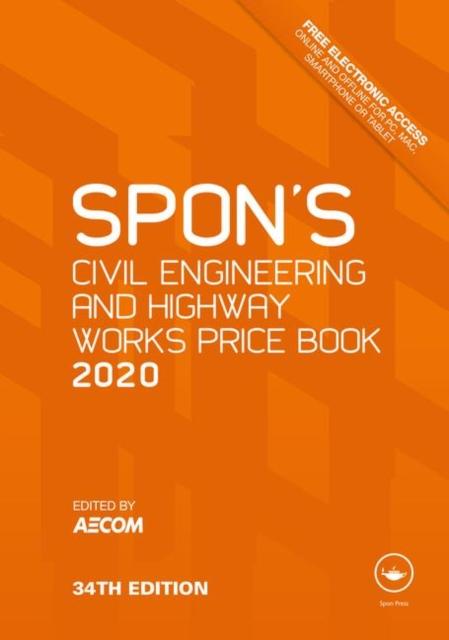 Spon's Civil Engineering and Highway Works Price Book 2020
