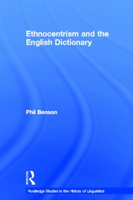 Ethnocentrism and the English Dictionary