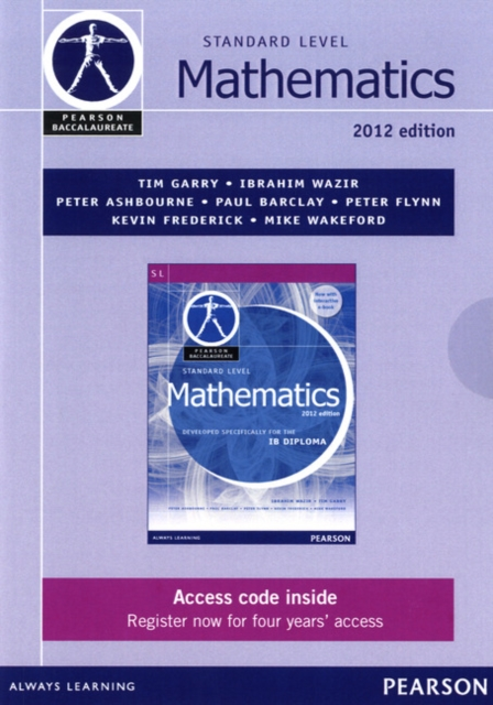 Pearson Baccalaureate Standard Level Mathematics second edition ebook only edition for the IB Diploma