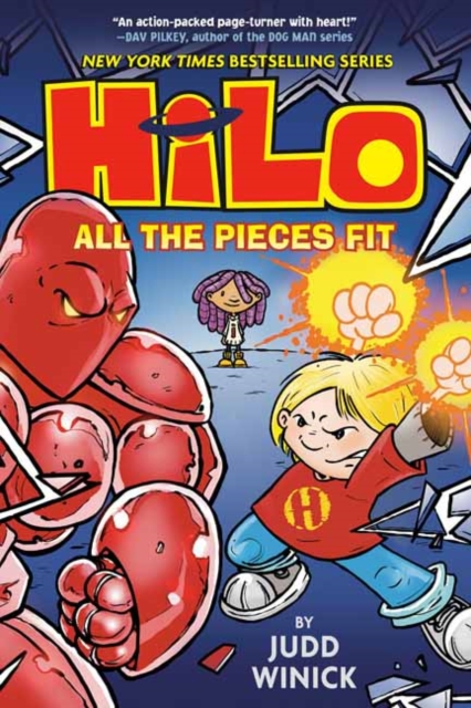 Hilo Book 6: All the Pieces Fit
