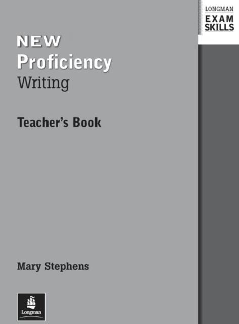 Longman Exam Skills CPE Writing Teacher's Book New Edition