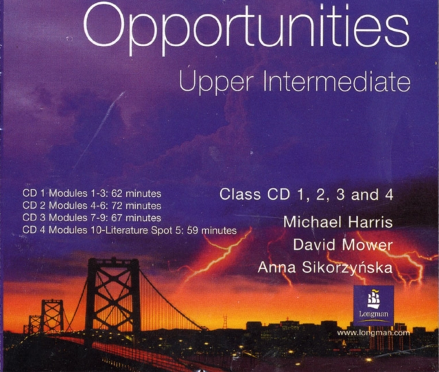 Opportunities Upper-Intermediate Class CD 1-4 Global