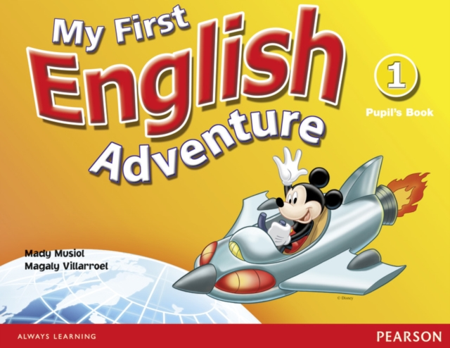 My First English Adventure 1 Pupils Book