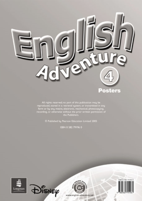 English Adventure Level 4 Posters