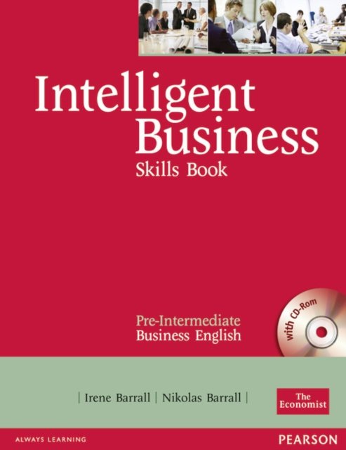 Intelligent Business Pre-Intermediate Skills Book and CD-ROM pack