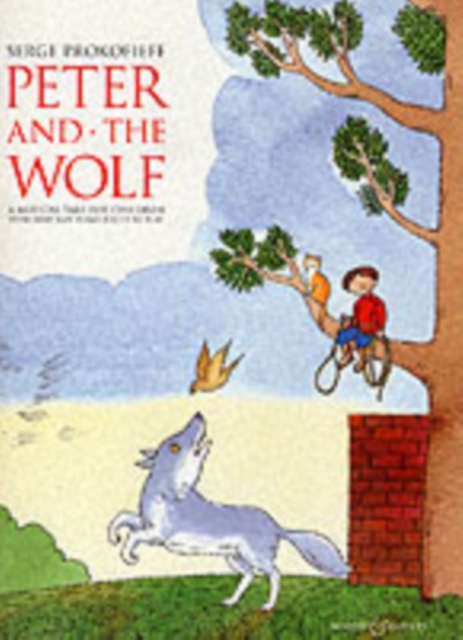 Peter and the Wolf Children's Book with Easy Piano Pieces