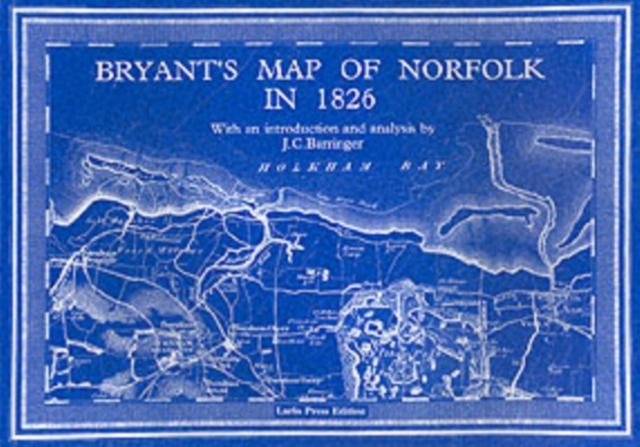 Bryant's Map of Norfolk in 1826