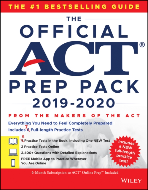 Official ACT Prep Pack 2019-2020 with 7 Full Practice Tests