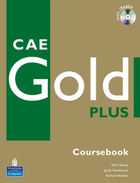 Pearson - CAE Gold Plus Coursebook, CD ROM Pack