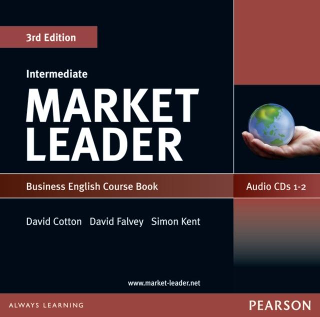 Market Leader 3rd edition Intermediate Level Coursebook Audio CD