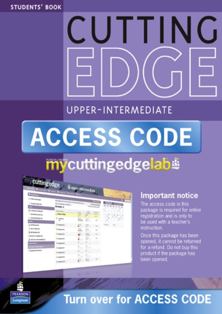New Cutting Edge Upper Intermediate Coursebook/CD-ROM/MyLab Access Card Pack