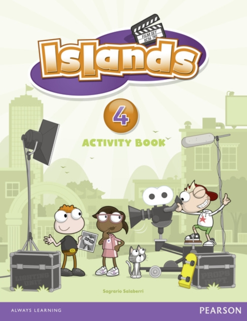Islands Level 4 Activity Book Plus Pin Code