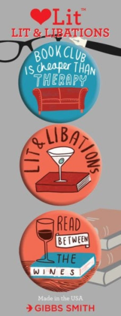 Lit and Libations 3 Badge Set