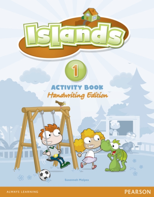Islands Handwriting Level 1 Activity Book Plus Pin Code