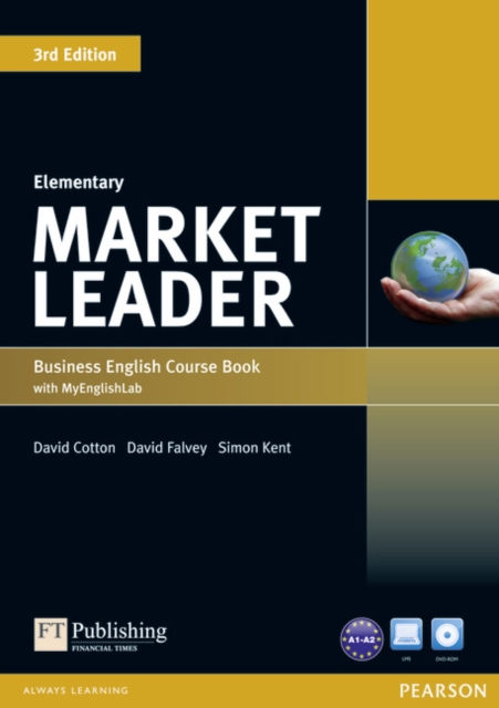 Market Leader 3rd Edition Elementary Coursebook (with DVD-ROM incl. Class Audio) & MyLab