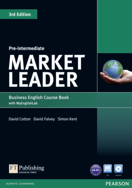 Market Leader 3rd Edition Pre-Intermediate Coursebook (with DVD-ROM incl. Class Audio) & MyLab