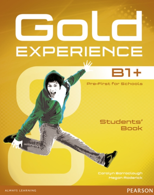 Gold Experience B1+ Students' Book and DVD-ROM Pack