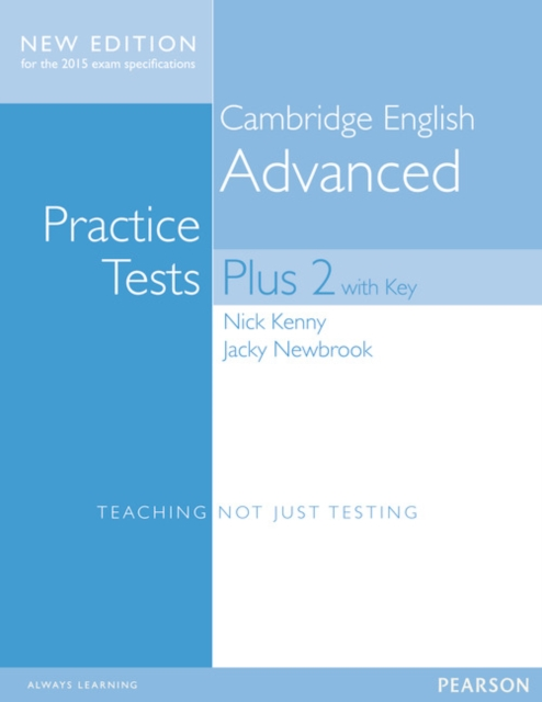Cambridge Practice Tests Plus New Edition 2014 Advanced Students' Book with Key