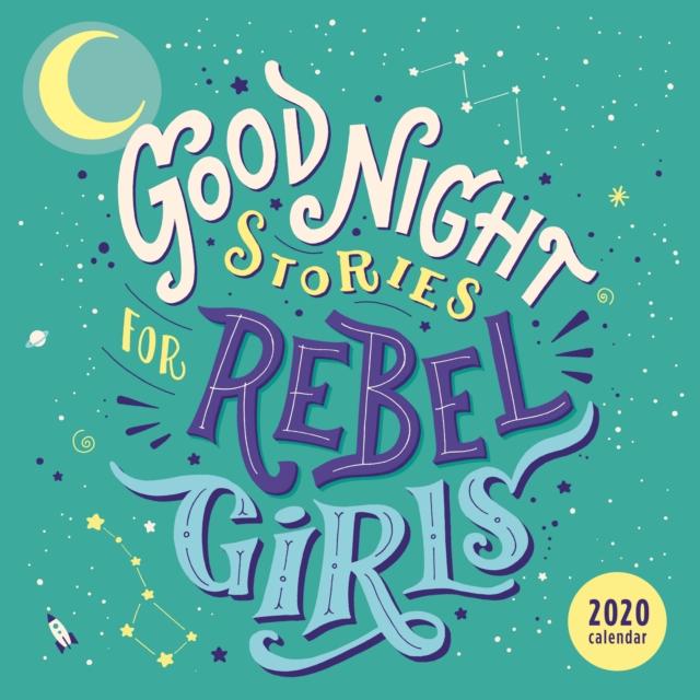 Good Night Stories for Rebel Girls 2020 Square Wall Calendar