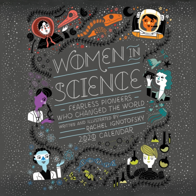 Women in Science 2020 Square Wall Calendar