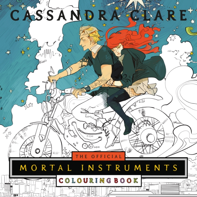 Official Mortal Instruments Colouring Book