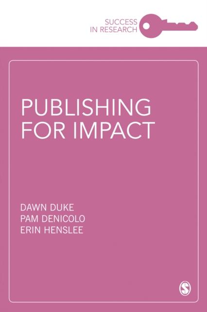 Publishing for Impact