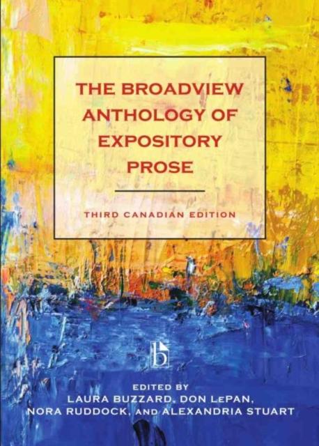 Broadview Anthology of Expository Prose - Canadian
