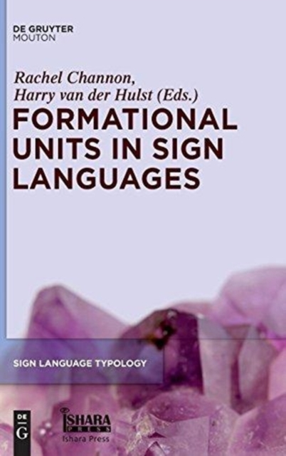 Formational Units in Sign Languages