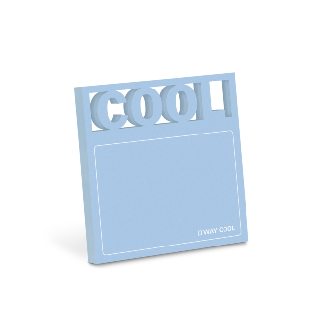 Knock Knock Cool Diecut Sticky Notes