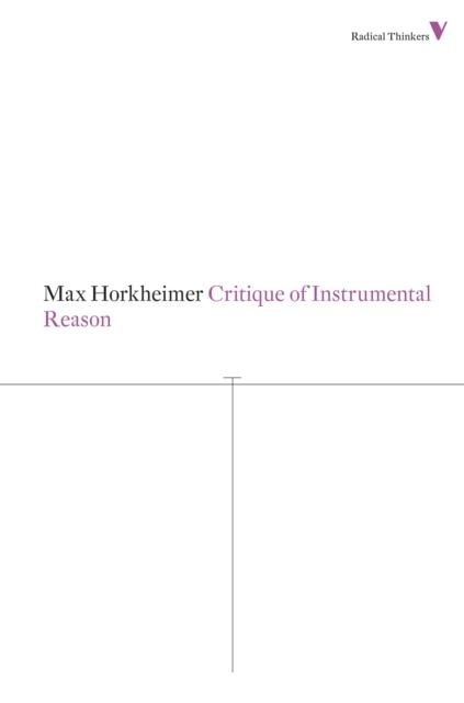 Critique of Instrumental Reason