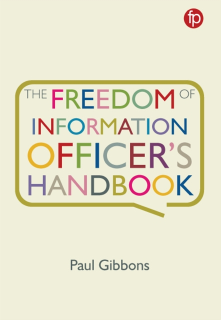 Freedom of Information Officer's Handbook