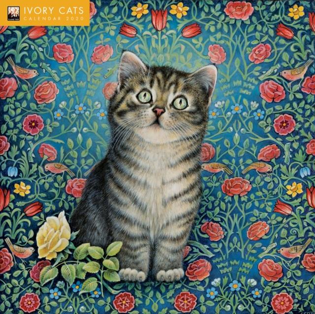 Ivory Cats Wall Calendar 2020 (Art Calendar)
