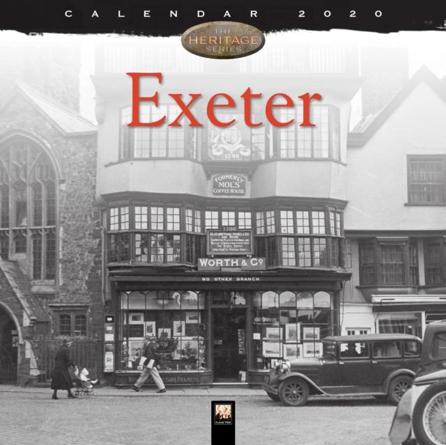 Exeter Heritage Wall Calendar 2020 (Art Calendar)