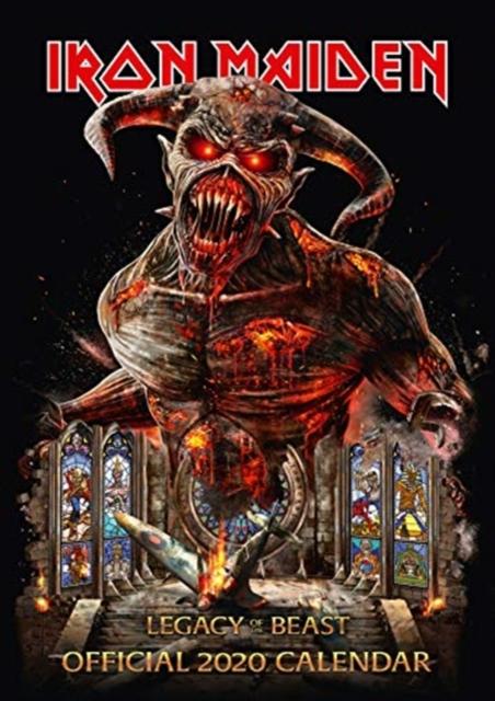 Iron Maiden 2020 Calendar - Official A3 Wall Format Calendar