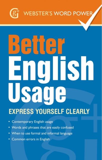 Better English Usage