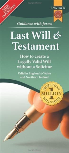 Last Will & Testament Form Pack